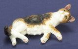 1:12 scale dollhouse miniature pregnant cats