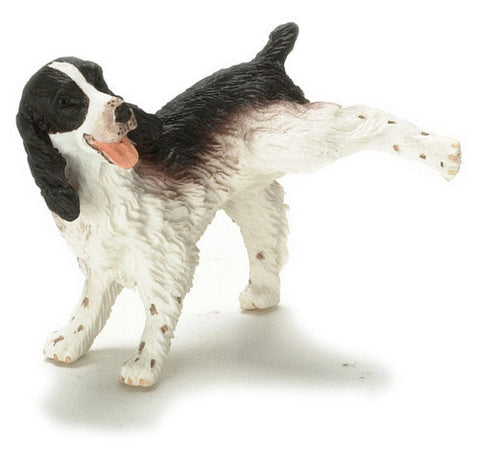 12th scale dollshouse miniature dog in poses