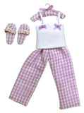 12th scale dollhouse miniature pajama set