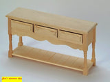 1:12 scale dollshouse miniature  small tables 5 to choose from