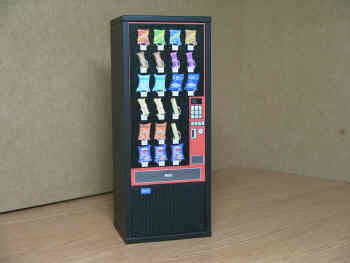 12th scale dollshouse miniature modern sweet vending machine