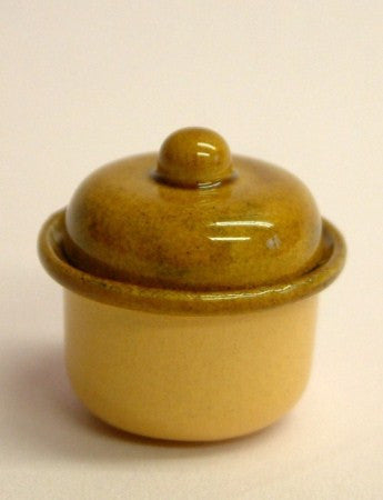1/12 scale dollshouse miniature real terracotta handmade cookie jars