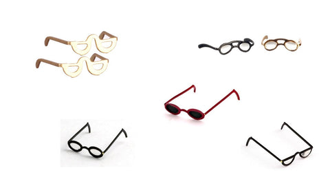 1/12 dollshouse miniature eyeglasses