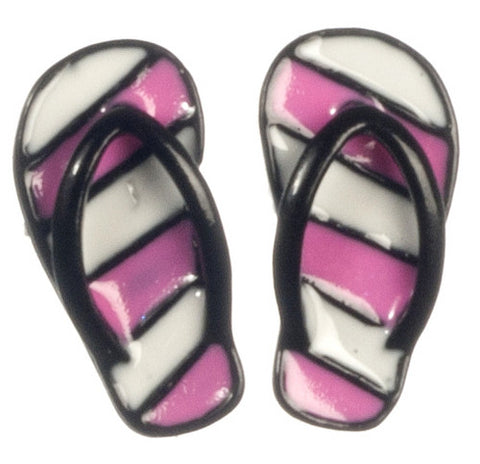 1/12 scale dollshouse miniature a pair of flip flops