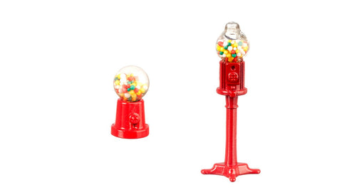 12th scale dollhouse miniature gumball machine