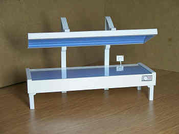 12th scale dollshouse miniature sunbed