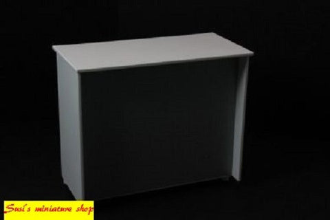 1:12 scale dolls house miniature modern hairdressers reception desk 3 to choose.