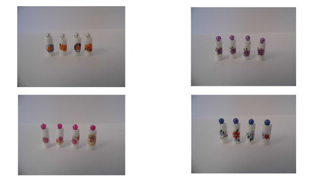 1/12 dollshouse miniature handmade bathroom bottles