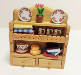 1:12 scale dollshouse miniature O.O.A.K. dressed  kitchen wall dresser 4 to choose from
