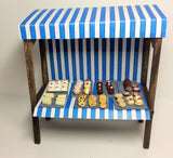 1:12 scale dolls house miniature handmade O.O.A.K market stalls  to choose.