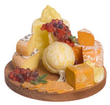 12th scale dollhouse miniature cheese board