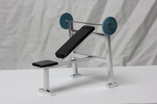 Dolls House Miniature 1//12th Scale Gym Equipment Various non working miniature