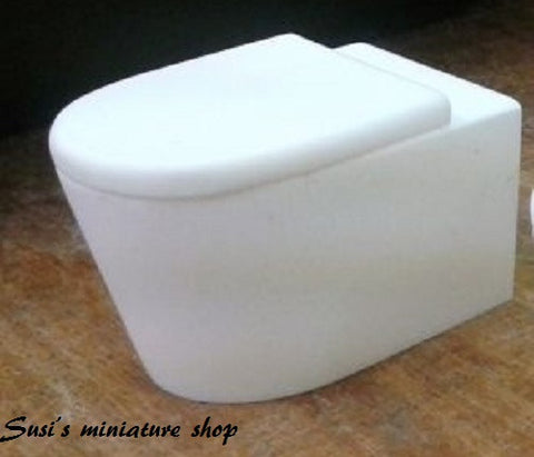 12th scale dollshouse miniature  modern bathroom items