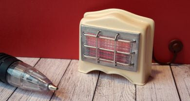 12th scale dollshouse miniature 50s style fire