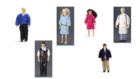 12th scale dollhouse miniature poseable doll