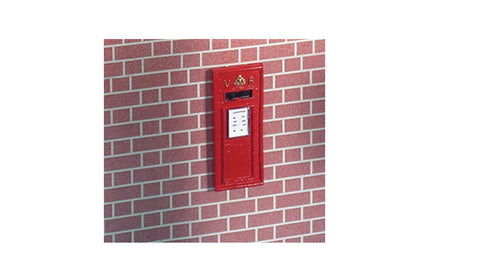 12th scale dollshouse miniature postbox or phone box