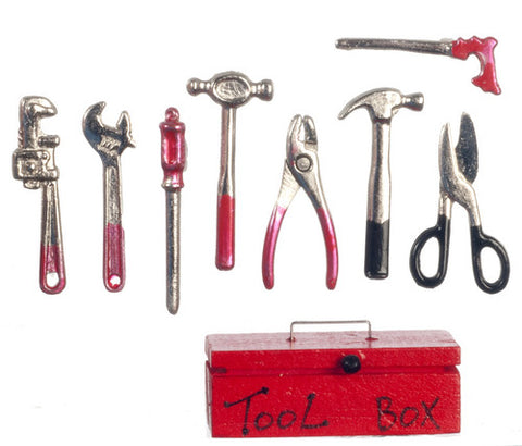 1/12 scale dollhouse miniature tools