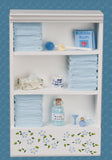 1/12 dollshouse miniature dressed bathroom unit