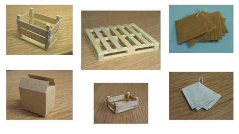 1/12 scale dollhouse miniature shop packaging