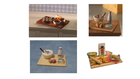 1/12 scale dollhouse miniature baking board