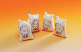 1/12 scale dollshouse miniature white shop sacks