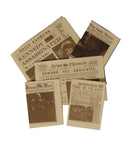 12th scale dollshouse miniature newspaper