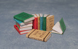 12th scale dollhouse miniature books