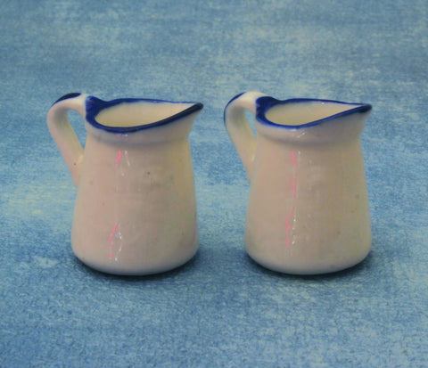 12th scale dollhouse miniature mock enamelware items