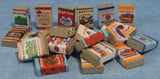 12th scale dollhouse miniature food cans and packets