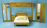12th scale dollhouse miniature bedroom set