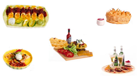 12th scale dollhouse miniature mexican foods