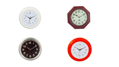 12th scale dollshouse miniature  modern wall clock
