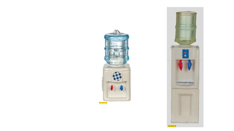 1/12 scale dollhouse miniature water coolers