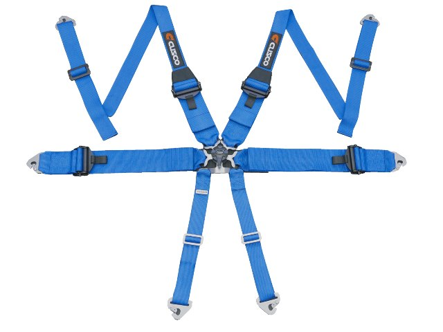 "Cusco 3"" 6-Point Racing Harness"