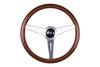 NARDI CLASSIC WOOD MARINE 360MM STEERING WHEEL W/SATIN SPOKES