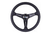 NARDI SPORT RALLY DEEP CORN BLACK EDITION STEERING WHEEL - 350MM PERFORATED LEATHER / BLACK STITCH