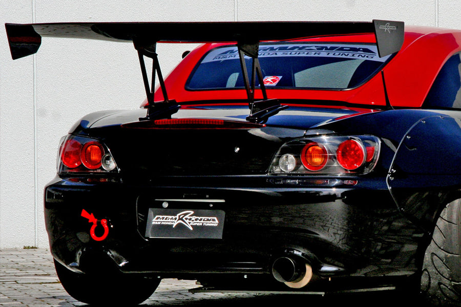 M&M Honda Racing Carbon GT Wing - 00-09 S2000 (AP1/AP2)