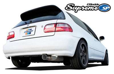 Greddy Supreme SP Exhaust - 92-95 Civic (EG) with K-Swap