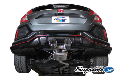 Greddy Supreme SP Exhaust Systems - 2017+ Civic (FK7/FK8)