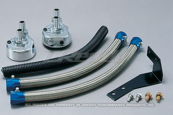 Greddy Oil Filter Relocation Kits - Various Applications