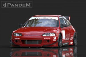 Greddy Pandem by TRA Kyoto Aero - Civic 92-95 (EG) Kit