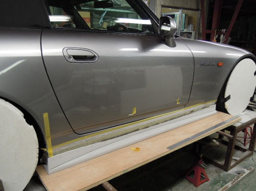 Voltex Side Step Version 2 (Street) - 00-09 Honda S2000