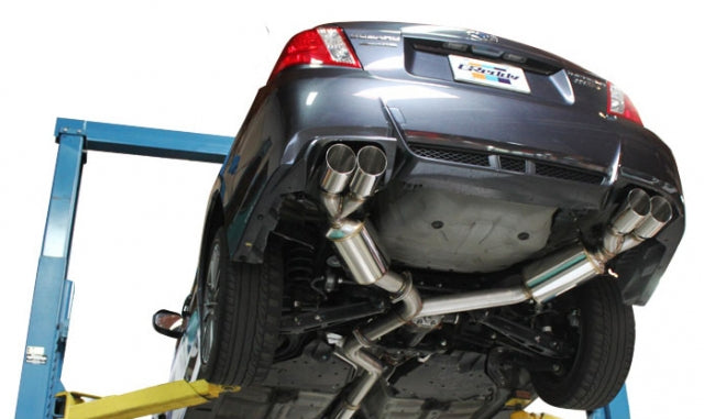 GReddy Evolution GT Catback Exhaust - 11-14 Subaru WRX/STi