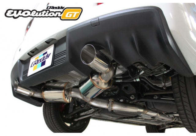 GReddy EVOlution GT Catback Exhaust - Mitsubishi EVO X