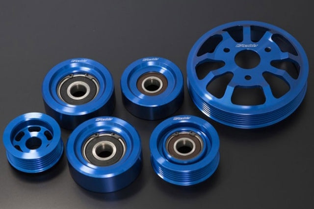 GReddy Billet Pulley Kit (Full Kit) - 2017+ Toyota GT-86 / 13-17 FR-S / 13+ BRZ (ZN6/ZC6)