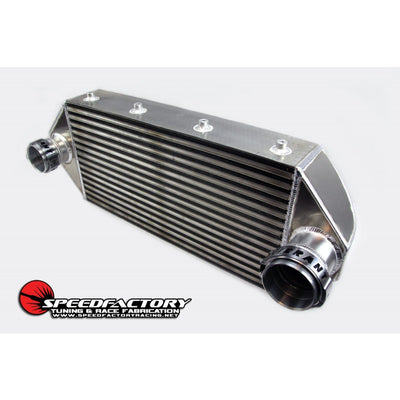 "SpeedFactory HPX Dual Backdoor Front Mount Intercooler - 3"" Inlet / 3.5"" Outlet (1200HP)"