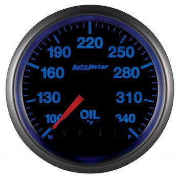 Autometer Elite Oil Temperature Gauges