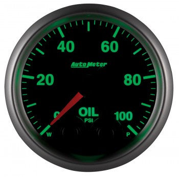 Autometer Elite Oil Pressure Gauges