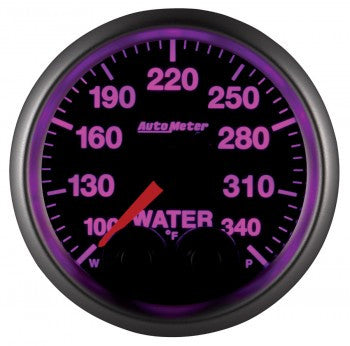 Autometer Elite Water Temperature Gauges