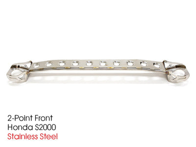 Circuit Hero Front 2-Point Strut Tower Bar - Honda/Acura Applications